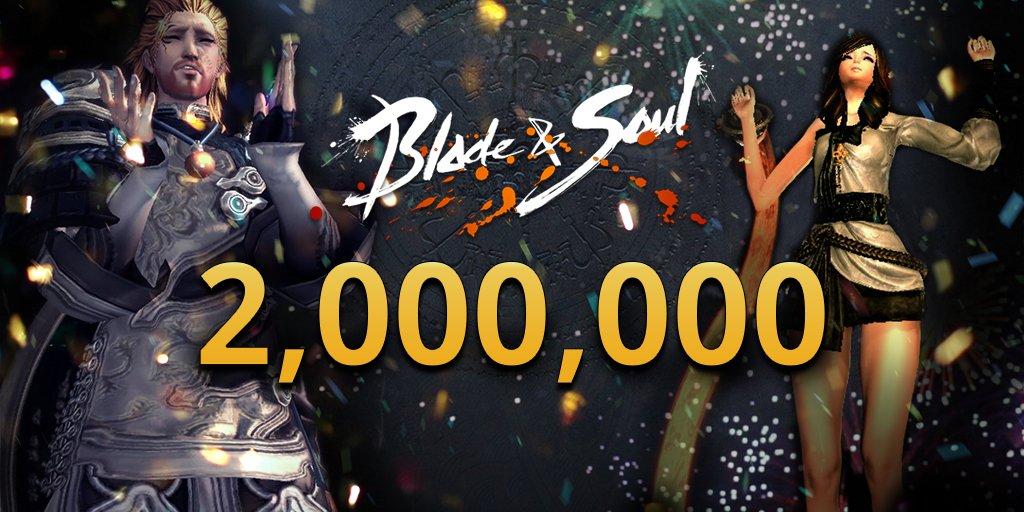 Photo of 2 Millions de joueurs sur Blade&Soul